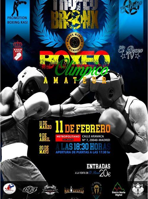 Veladas de Boxeo organizadas por El Bronx