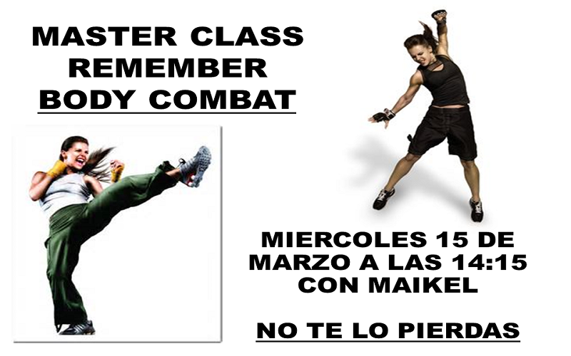 Master Class Remember Body Combat