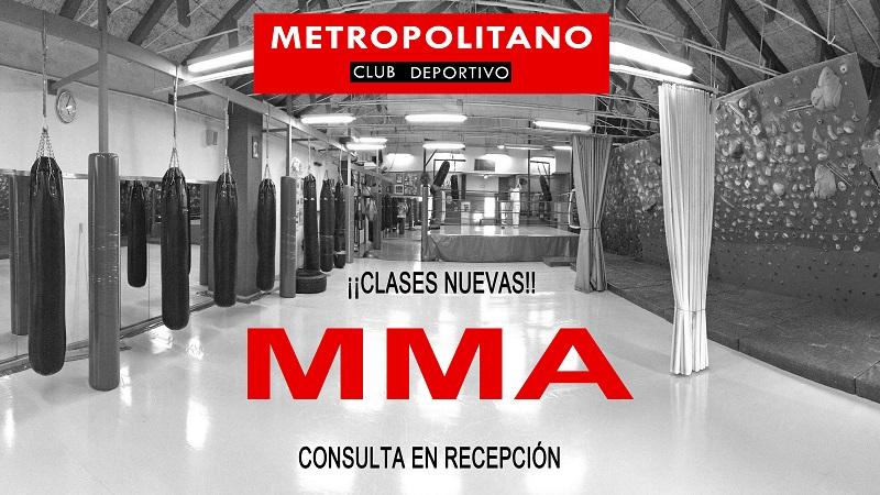 Reanudamos las clases de MMA