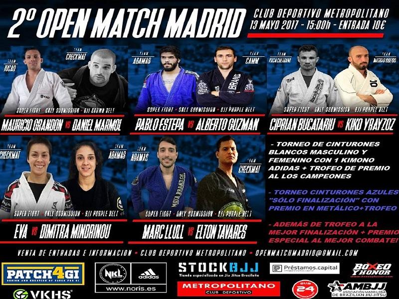 El mejor Brazilian Jiu Jitsu nacional en Madrid