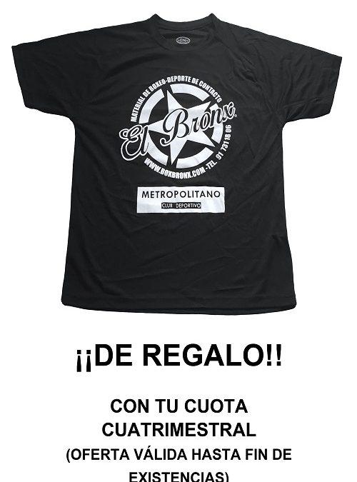 Consigue tu camiseta de El Bronx