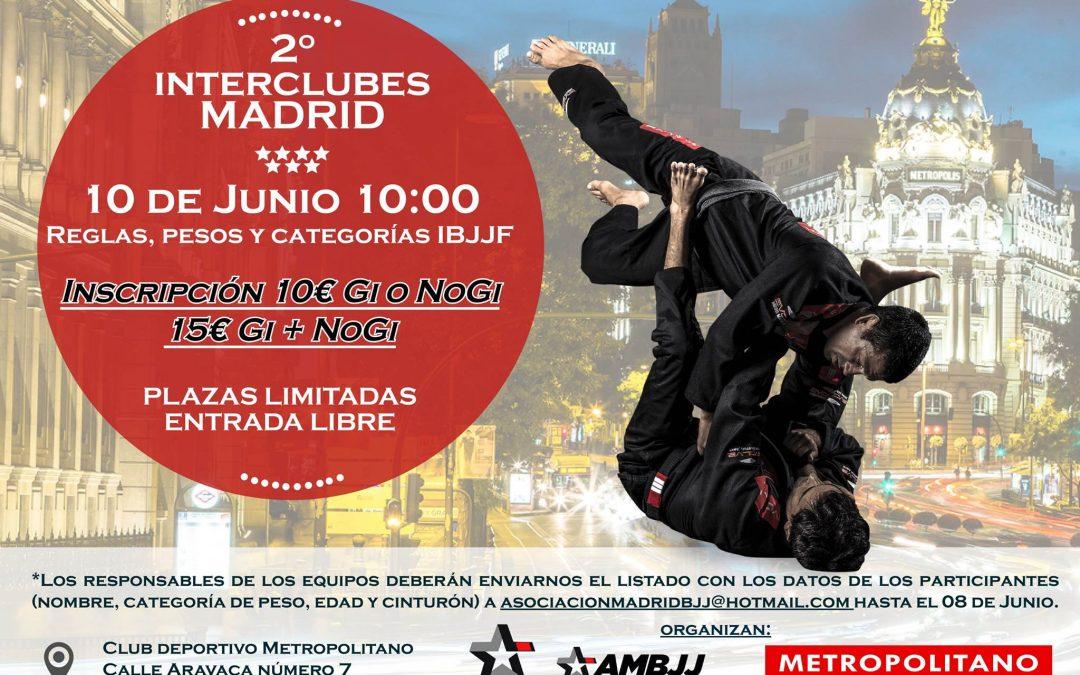 2º Interclubes Brazilian Jiu Jitsu Madrid