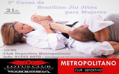 Curso Brazilian Jiu Jitsu para mujeres