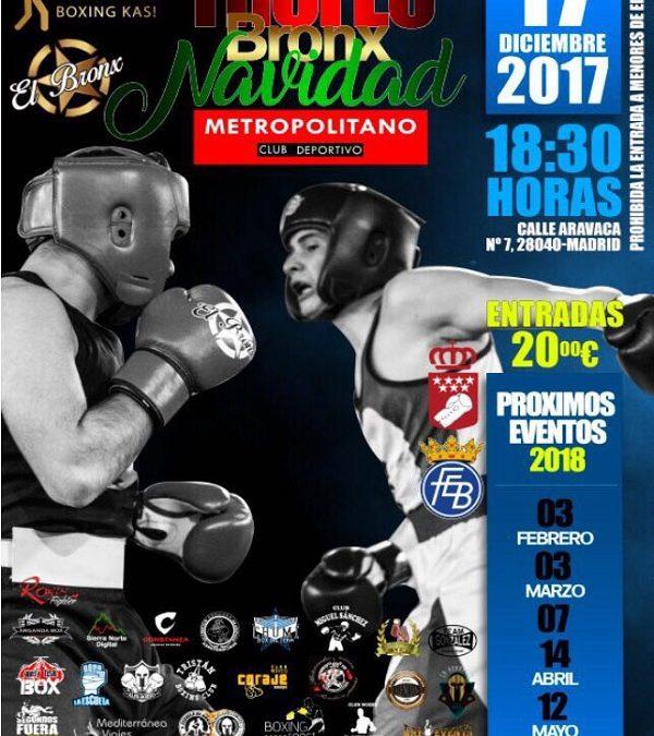 Velada de Boxeo: Trofeo Bronx Navidad