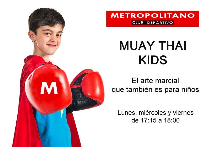 Muay Thai para niños