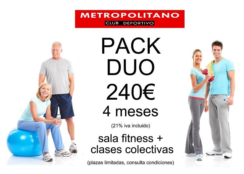 Promoción Pack Duo