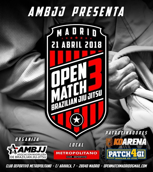 Tercer Open Match Brazilian Jiu Jitsu Madrid