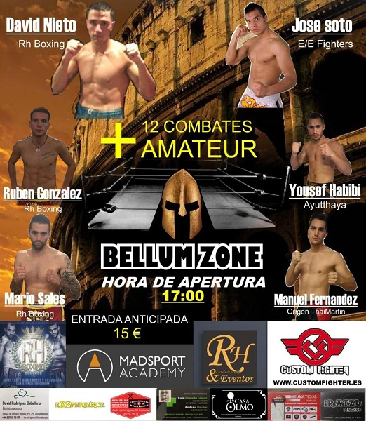 Bellum Zone: Velada de Muay Thai