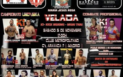 Road Warrior II: velada de K1, Kick Boxing y Muay Thai