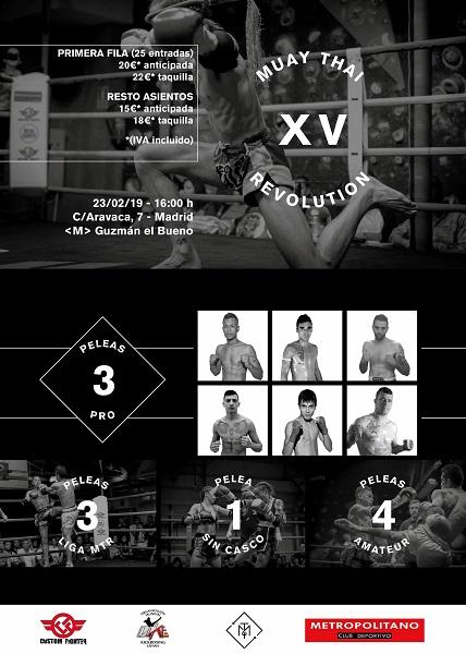 Muay Thai Revolution XV
