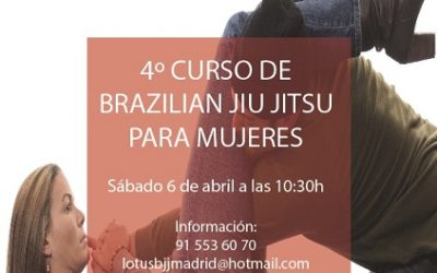 4º Curso Brazilian Jiu Jitsu para mujeres