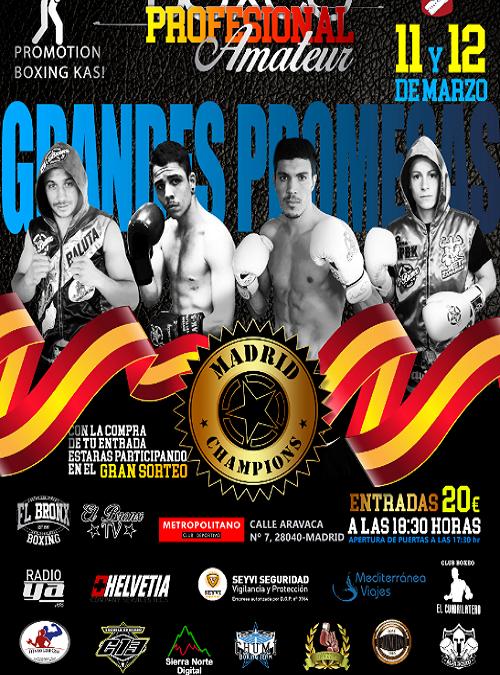 Veladas de Boxeo Amateur y Profesional