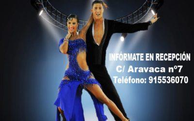 Comienzan las clases de baile latino y caribeño