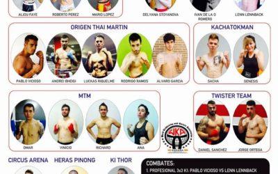 Road Warrior: velada de K1, Kick Boxing y Muay Thai