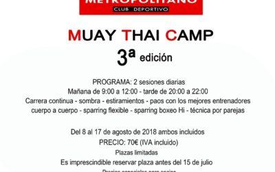 Muay Thai Camp 2018