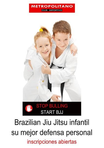 Brazilian Jiu Jitsu para niños