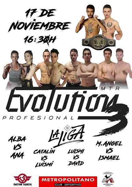 MTR EVO III: Muay Thai Profesional en Madrid
